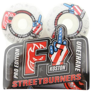 Spitfire F1 Urethane Wheels - Eric Koston (white)