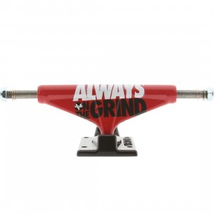 Venture Always On The Grind 5.0 High Truck - Set Of 2 (red)