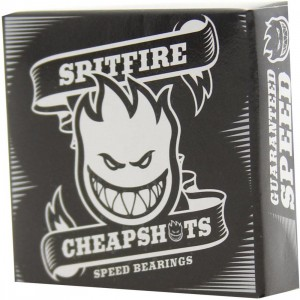 Spitfire Cheapshots Speed Bearings (black)