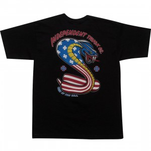 Independent Truck Company USA Cobra Regular Short Sleeve Tee (black)