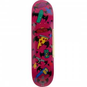 Girl Skateboard Mike Mo Everything 8 In Deck (purple / pink / multi)