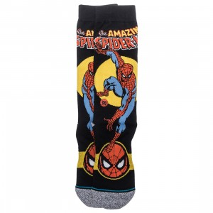 Stance x Marvel Spiderman Men Marquee Socks (black)