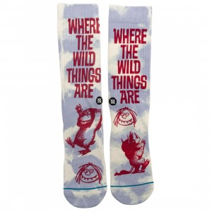 Stance x Where The Wild Things Are Men Socks (blue)