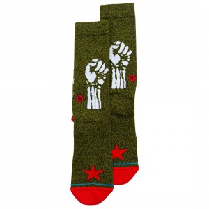 Stance x Rage Against The Machine Men Renegade Socks (green)