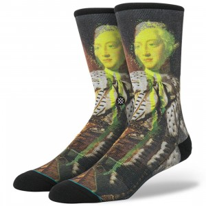 Stance Defaced George Socks (yellow)