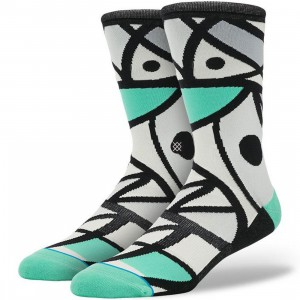 Stance Karate Chop Socks (black)