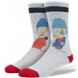 Stance Snot Sickle Socks (gray)