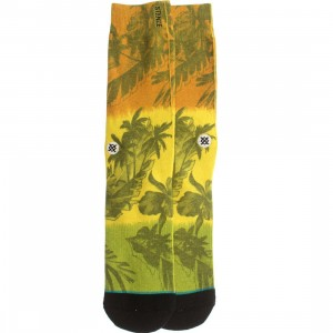 Stance Jah-Loha Socks (yellow / rasta)