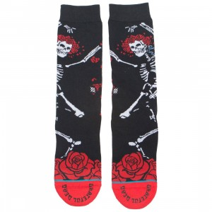 Stance x Grateful Dead Men Dead Head Socks (black)