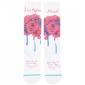 Stance x Grateful Dead Men Find Out Socks (white)