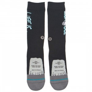 Stance x Too Short Men Too Short Socks (black)