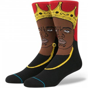 Stance x Notorious BIG Socks (red)