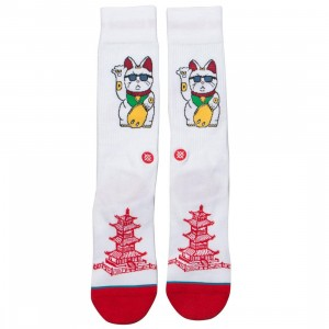 Stance Men Thank You Enjoy Socks (white)