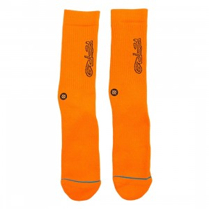 Stance x ASAP Ferg Men Neon Socks (orange / neon)