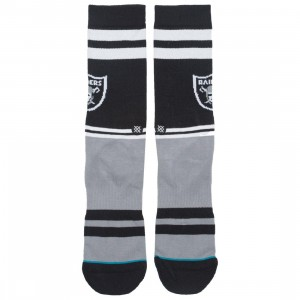 Stance x NFL Men Oakland Raiders Sideline Socks (black)