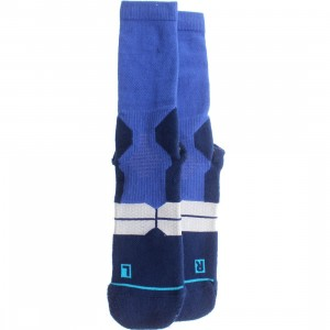 Stance Overtime Fusion Basketball Socks (blue)