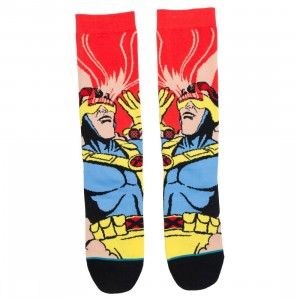 Stance x X-MEN Men Socks - Cyclops (red / magenta)