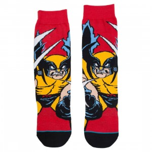 Stance x X-MEN Men Socks - Wolverine (red)