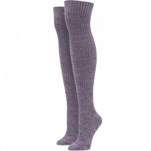 Stance Women Matchsticky Over The Knee Socks (purple) 1S