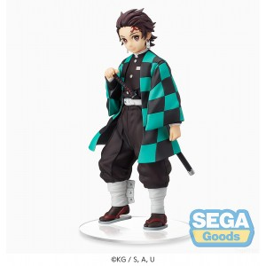 PREORDER - Sega Demon Slayer Kimetsu no Yaiba Tanjiro Kamado Sibling Bonds SPM Figure (black)