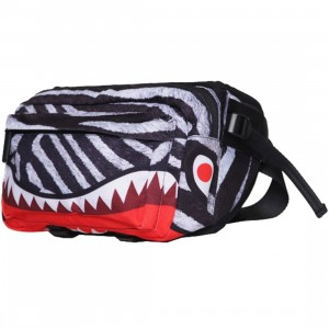 Sprayground Zebra Holster (white / black)