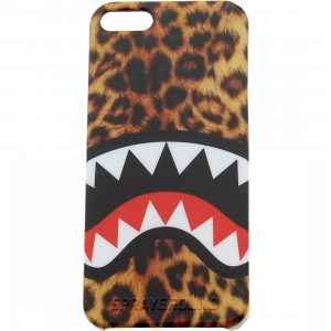 Sprayground Leopard Shark iPhone 5 Case (yellow)