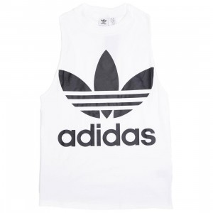 Adidas Women Trefoil Tank Top (white / black)