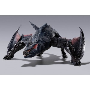 PREORDER - Bandai S.H.MonsterArts Monster Hunter Nargacuga Figure (black)