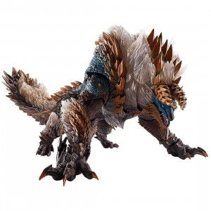 PREORDER - Bandai S.H.MonsterArts Monster Hunter World Iceborne Zinogre Figure (brown)