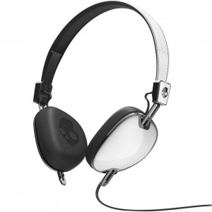 Skullcandy Supreme Sound Navigator Headphone W Mic (white / black)