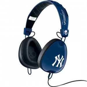 Skullcandy Supreme Sound Aviator Headphone W Mic - New York Yankees (navy)