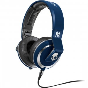 Skullcandy Supreme Sound Mix Master Headphones W Mic - New York Yankees (blue)