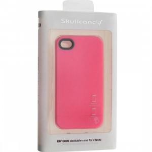 Skullcandy iPhone 4 And 4S Division Dockable Case (pink)