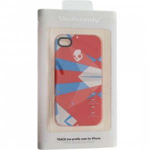 Skullcandy iPhone 4 And 4S Trace Low Profile Case (kaleidoscope red)