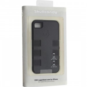 Skullcandy iPhone 4 And 4S Exo Ruggedized Case (black / grey)