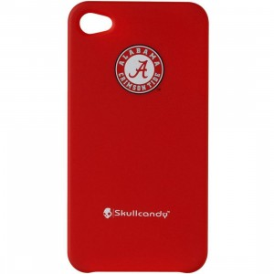 Skullcandy Alabama Crimson Tide iPhone 4 And 4S Clip On Case (red)