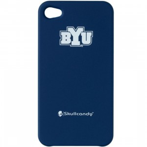 Skullcandy BYU Cougars iPhone 4 And 4S Clip On Case (blue)