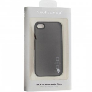 Skullcandy iPhone 4 And 4S Trace Low Profile Case (charcoal)