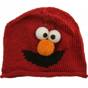 Sesame Street Kids Elmo Beanie (red)
