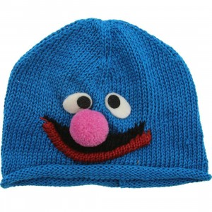 Sesame Street Toddlers Grover Beanie (blue)