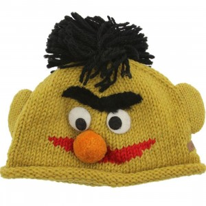 Sesame Street Toddlers Bert Beanie (yellow)