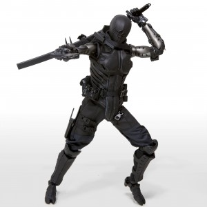 BAIT x GI Joe x 1000 Toys 1/6 Snake Eyes Figure - Convention Exclusive (black)