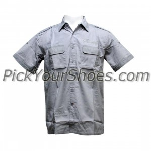 Sneaktip Socialite Short Sleeve Shirts (grey)