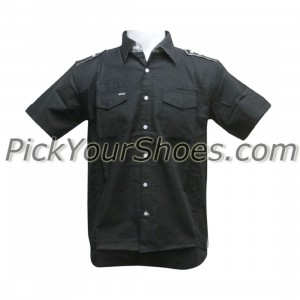 Sneaktip Chameleon Short Sleeve Shirts (black)