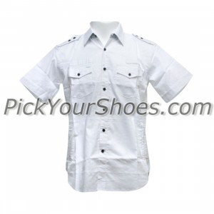 Sneaktip Chameleon Short Sleeve Shirts (white)