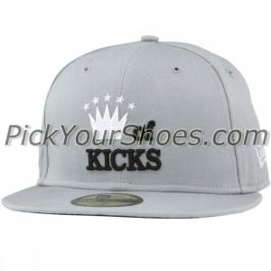 Sneaktip King of Kicks New Era Fitted Cap (silver)