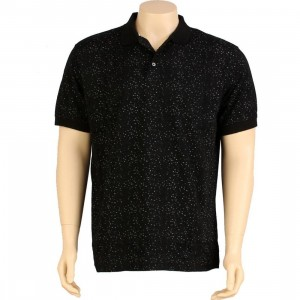 Sneaktip Speckle Polo (black)