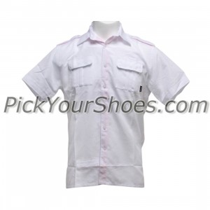 Sneaktip Socialite Short Sleeve Chambray Shirts (white)