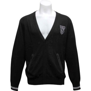 Sneaktip All Wood Cardigan (black)