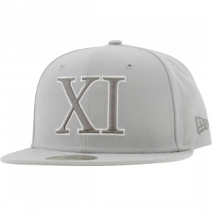 Sneaktip AJ 11 Cool Grey Fitted Cap (grey)